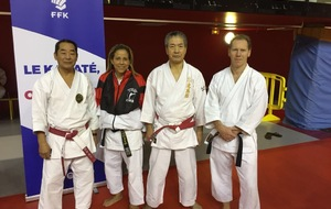 Stage national des Experts Japonais à l'Institut du Judo